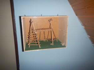 Gebasteltes Lagermodell war eine Knappenaufgabe